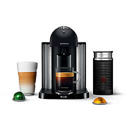 Nespresso® by Breville Vertuo Coffee and Espresso Machine with Aeroccino in Black Matte