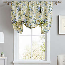 Laura Ashley® Cassidy Tie Up Designer Valance in Soft Yellow