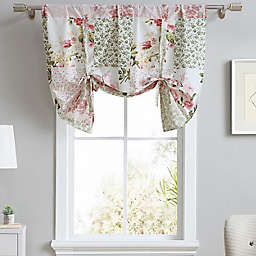 Laura Ashley® Ailyn Tie Up Designer Valance in Pink Rose