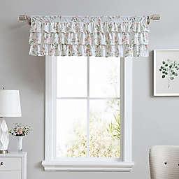 Laura Ashley® Fawna Tier Ruffled Window Valance in Blush