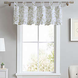 Laura Ashley® Lindy Tab Top Valance in Light Green