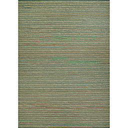 Couristan Nature's Elements Ravine 6' x 9' Area Rug in Seagrass/Gold