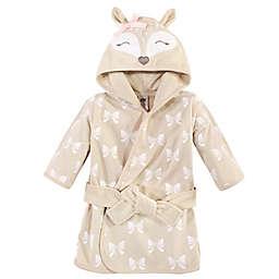 Hudson Baby® Size 0-9M Fawn Hood Cotton Rich Bathrobe in Brown