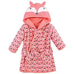 Hudson Baby® Size 0-9M Fox Cotton Rich Bathrobe in Orange