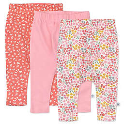The Honest Company® 3-Pack Meadow Floral Harem Pants in Pink Blush
