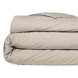 Casper® Organic Cotton Percale Twin Duvet Cover in Oat