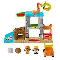 Fisher-Price® Little People® Load Up 'n Learn Construction Site™ Playset