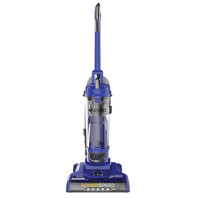 Alternate image 1 for Eureka® PowerSpeed Upright Spotlight Vacuum with Headlights in Blue