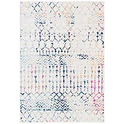 Safavieh Tulum 4' x 6' Carmen Area Rug in Blue