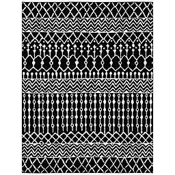 Safavieh Tulum 9' x 12' Carmen Area Rug in Black