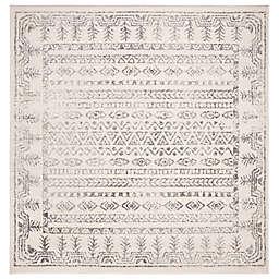 Safavieh Tulum 6'7 x 6'7 Joya Area Rug in Grey