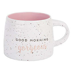 """Home Essentials """"Good Morning Gorgeous"""" Mug in Pink"""