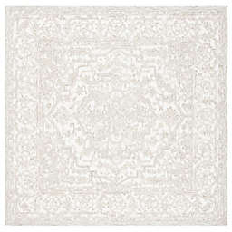 Safavieh Trace Anet 6' x 6' Area Rug in Ivory