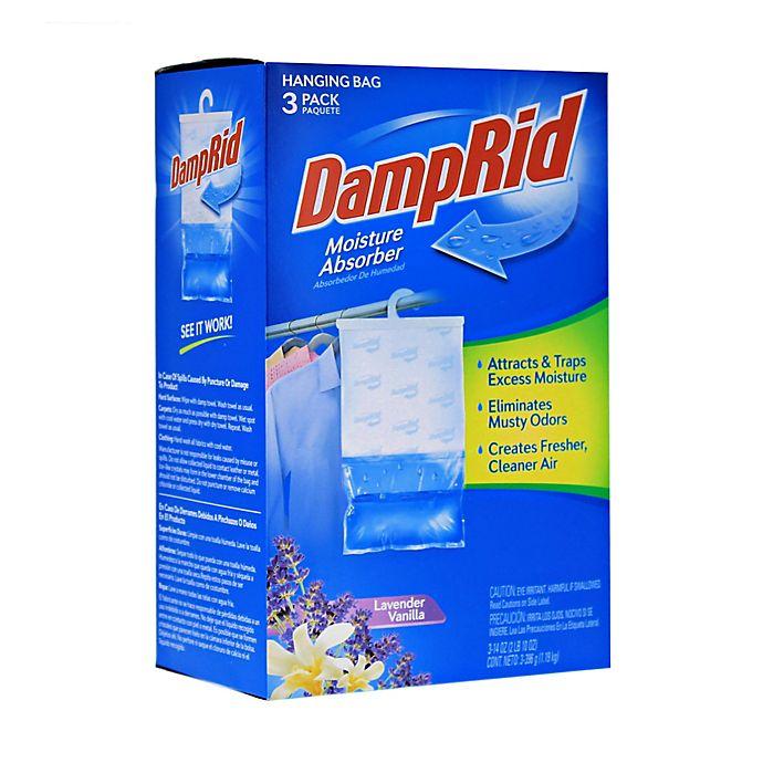 Alternate image 1 for DampRid® Hanging Moisture Absorber in Lavender Vanilla (Set of 3)