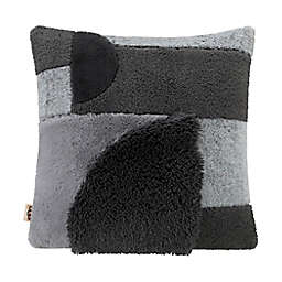 UGG® Crescent Square Throw Pillow in Charcoal