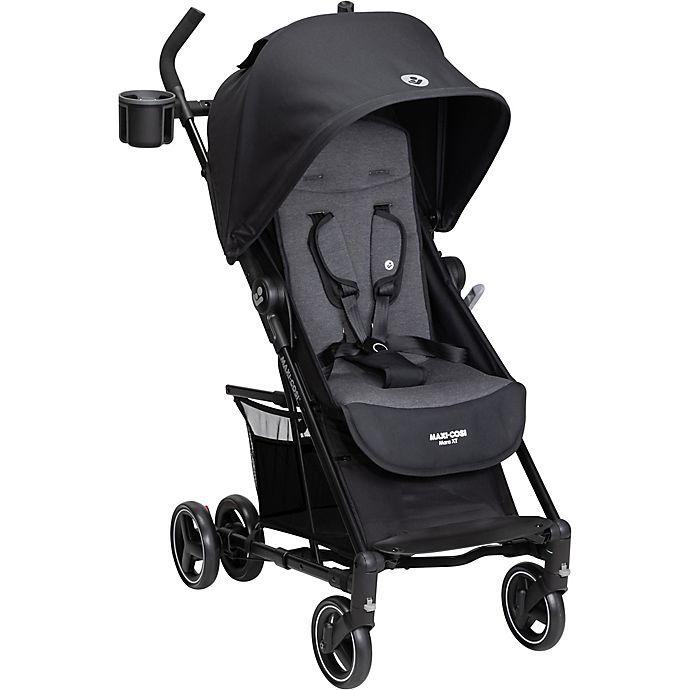 Alternate image 1 for Maxi Cosi® Mara XT Ultra Compact Stroller, Essential Black