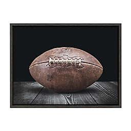 DesignOvation Sylvie Vintage Football Framed Canvas Wall Art