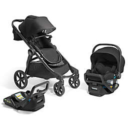 Baby Jogger City Select 2 Eco Collection Single-to-Double Modular Travel System in Lunar Black