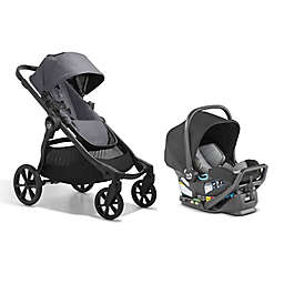 Baby Jogger City Select 2 Single-to-Double Modular Travel System in Radiant Slate