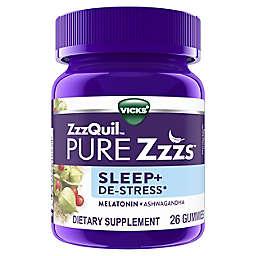 Vicks® ZzzQuil™ PURE Zzzs™ 26-Count Sleep + De-Stress Gummies in Blackberry Vanilla