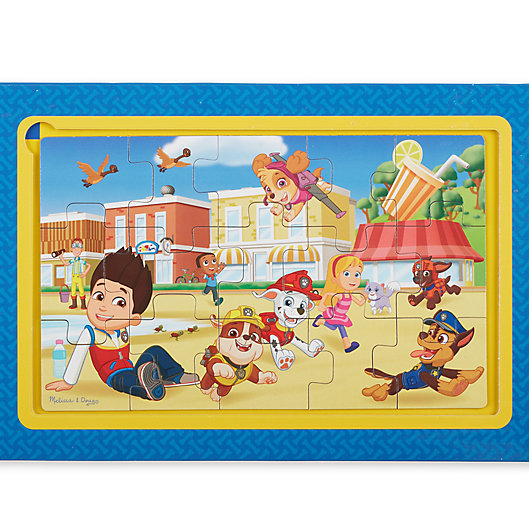 Alternate image 1 for Melissa and Doug® Paw Patrol Magnetic Jigsaw Puzzle