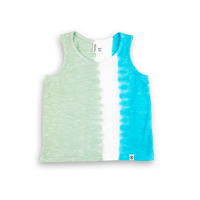 Alternate image 1 for Sovereign Code® Size 12M Tie Dye Tank Top in Teal/Sage