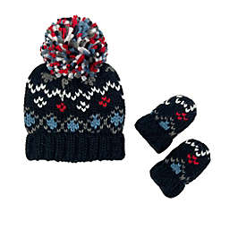 Toby Fairy™ Size 2T-4T Jacquard Hat and Mitten Set in Black