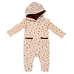 Baby Starters® Hooded Coverall with Ears in Pink
