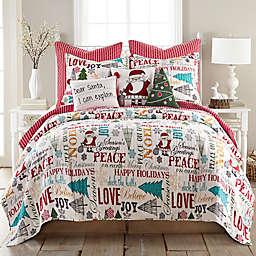 Levtex Home Santa Claus Lane Reversible Quilt Set
