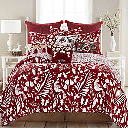 Levtex Home Oscar & Grace Bretton Woods Reversible Quilt in Red