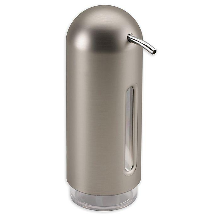 Alternate image 1 for Umbra® Penguin Soap Dispenser in Nickel