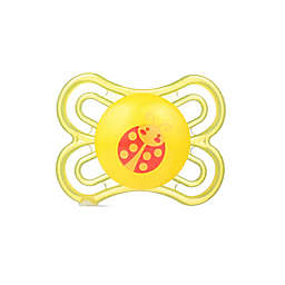 MAM Perfect Orthodontic Size 0-6 Months Pacifier in Yellow
