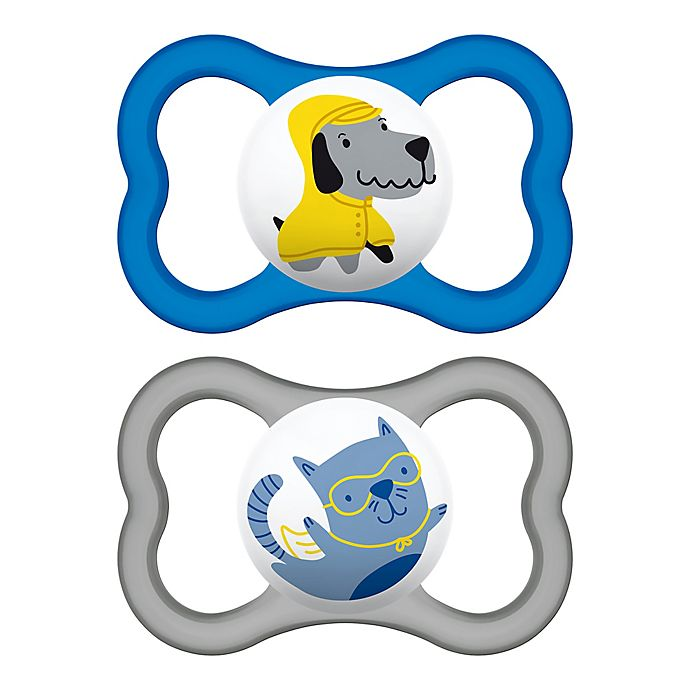 Alternate image 1 for MAM Air Ages 6+ Months Pacifier (2-Pack)