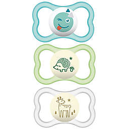 MAM Air Day/Night 6M-12M 3-Pack Pacifiers