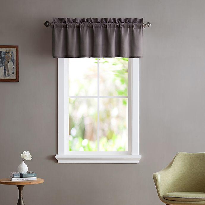 Alternate image 1 for Smoothweave™ Tailored Window Valance
