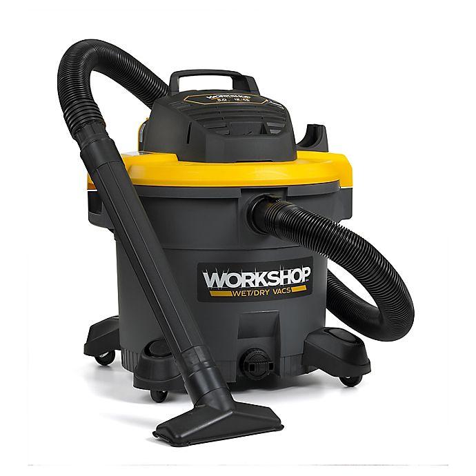 Alternate image 1 for WORKSHOP® 5.0 Peak HP 12-Gallon Heavy Duty Performance Wet/Dry Vacuum