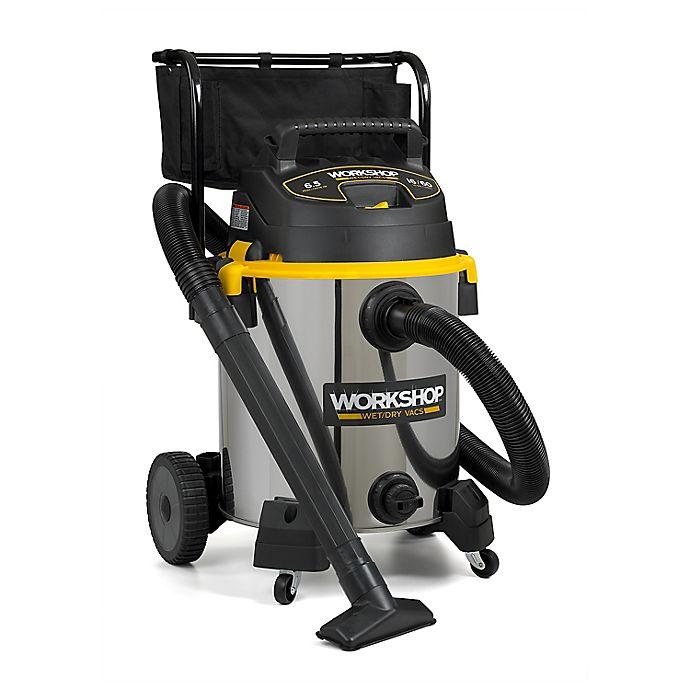 Alternate image 1 for WORKSHOP® 6.5 Peak HP 16-Gallon High Capacity Wet/Dry Vacuum