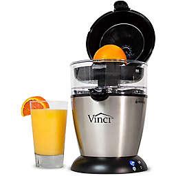 Vinci Hands Free Citrus Juicer in Black/Silver