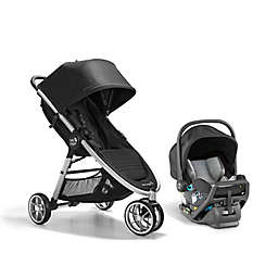 Baby Jogger® City Mini® 2 Travel System in Opulent Black