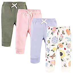 Touched by Nature® 4-Pack Flutter Garden Organic Cotton Pants