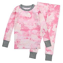 The Honest Company® 2-Piece Rose Color World Organic Cotton Pajama Set