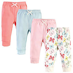Touched by Nature® Size 4-Pack Butterlies Organic Cotton Pants