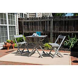 Linon Home Portland 3-Piece Folding Bistro Set