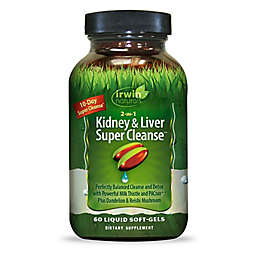 Irwin Naturals® 60-Count 2-in-1 Kidney & Liver Super Cleanse Liquid Softgels