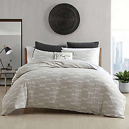 Textured Geo Grey Twin Comforter Set
