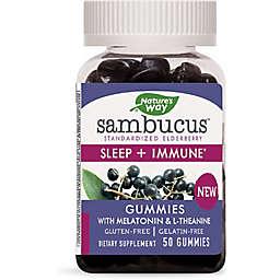 Sambucus™ 50-Count Sleep + Immune Gummies with Melatonin & L-Theanine