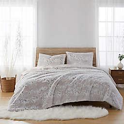 Faux Fur 3-Piece Comforter Set