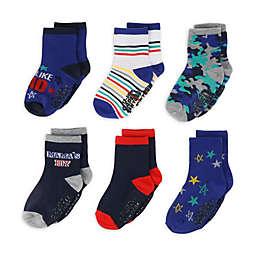 Capelli New York 6-Pack Just Like Dad Socks