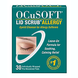 OCuSOFT® 30-Count Lid Scrub® Allergy Eyelid Cleanser Pads