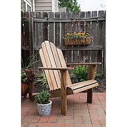 Teak-Look Adirondack Chair